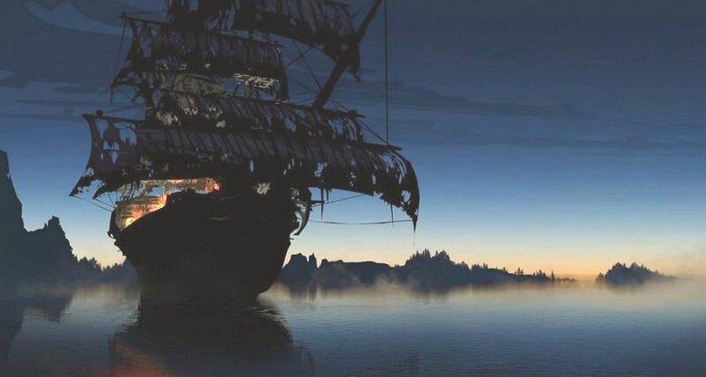 В прибрежных водах Китая появились корабли-призраки.