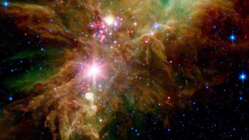 Новогодний подарок от НАСА: огни космической ёлки