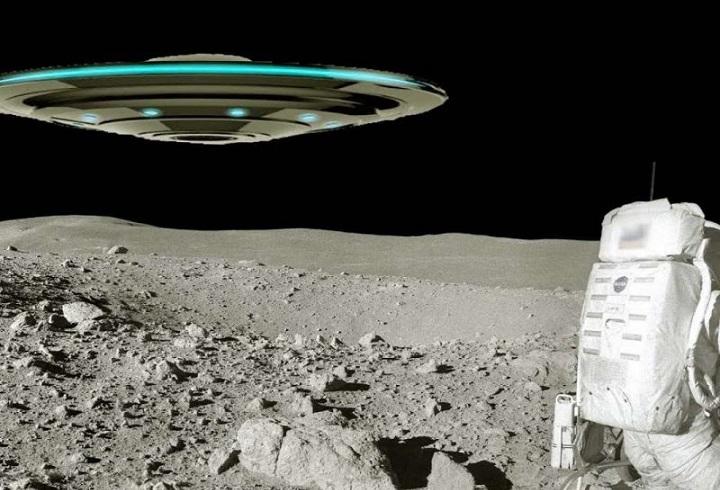 Что за космический корабль взлетает с Луны